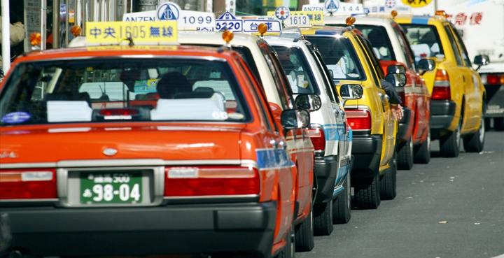 Taxis Japan